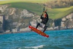Parasail Surfing Stock Photos