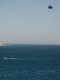 Parasailing σε Cabo SAN Lucas Στοκ φωτογραφία με δικαίωμα ελεύθερης χρήσης