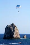 Parasailing στο Los Cabos Στοκ εικόνα με δικαίωμα ελεύθερης χρήσης
