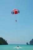 parasailing obraz royalty free