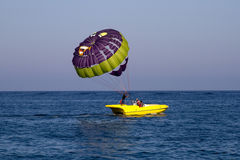 Parasailing Royalty-vrije Stock Afbeelding
