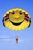 parasailing Fotografering för Bildbyråer