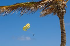 Parasailing Photo stock
