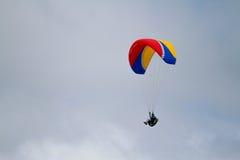 Parasailing acima de Torrey Pines Imagem de Stock