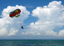 Parasailing In Bahamas Stock Photography