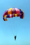 Parasailing in beach in summer Stock Photo