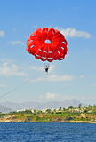 PARASAILING. Royalty Free Stock Images