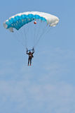 Parasailing on blue sky Royalty Free Stock Photography