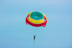 Parasailing On Blue Sky Royalty Free Stock Images