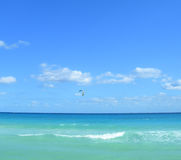 Parasailing in the Caribbeans Royalty Free Stock Photo