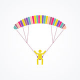 Parasailing Concept Royalty Free Stock Photos