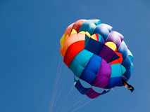 parasailing de ballon Photo libre de droits