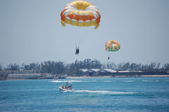 Parasailing, Key west Stock Photos