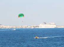 Parasailing1 Royalty Free Stock Images