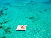 Parasailing Mauritius Stock Images