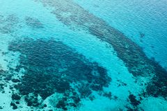 Parasailing over tropical sea, bright colors Stock Image
