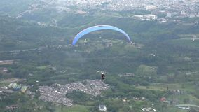 Parasailing, Paragliding, Skydiving, Flying Sports stock video footage