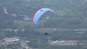 Parasailing, Paragliding, Skydiving, Flying Sports stock footage