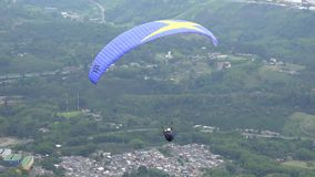 Parasailing, Paragliding, Skydiving, Flying Sports stock video