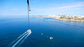 Parasailing - photographer perspective Royalty Free Stock Photo