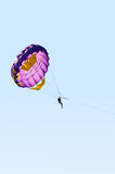 Parasailing in the sky Royalty Free Stock Photography