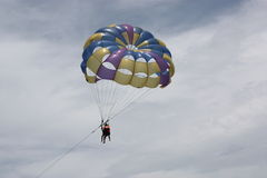 Parasailing in Vietnam Stock Photography