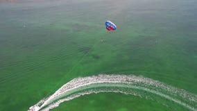 Parasailing w Floryda Wpisuje powietrznego wideo zbiory wideo