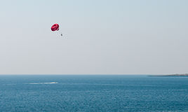 Parasailing , water sport Stock Photography