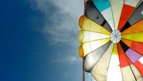 Parasailingbana royaltyfri fotografi