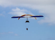 Parasails and Hang Gliders Stock Image