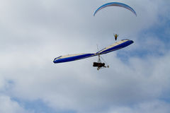 Parasails and Hang Gliders Royalty Free Stock Image