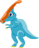 Parasaurolophus 免版税库存照片