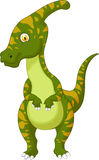 Parasaurolophus cartoon Stock Photo