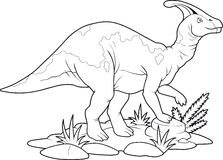 Parasaurolophus Stock Image