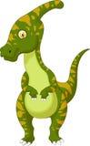 Parasaurolophus kreskówka royalty ilustracja