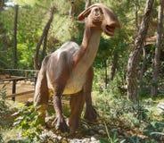Parasaurolophus-Late /76-65 cretáceo milhão anos há No arquivo de Fotos de Stock Royalty Free