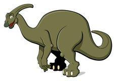 Parasaurolophus per i bambini Fotografie Stock Libere da Diritti