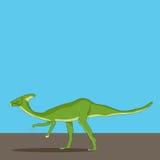 Parasaurolophusdinosaurus Royalty-vrije Stock Foto