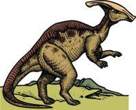 Parasaurus - dinossauro pré-histórico Fotos de Stock