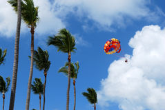 Parasailing Royalty Free Stock Photography