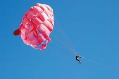 parashutepink Royaltyfri Fotografi