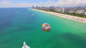 Parasial迈阿密海滩 股票录像
