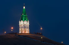 Paraskeva Pyatnitsa Chapel Krasnoyarsk Royaltyfri Fotografi