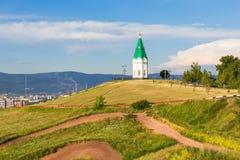 Paraskeva Pyatnitsa Chapel, Krasnoyarsk Stock Images
