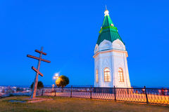 Paraskeva Pyatnitsa Chapel, Krasnoyarsk Stock Photos