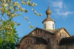 Paraskeva Pyatnitsa church in Veliky Novgorod, Russia Stock Photos