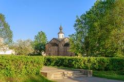 Paraskeva Pyatnitsa church in Veliky Novgorod, Russia Stock Images