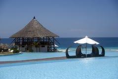 Paraíso, Nungwi, Zanzibar, Tanzânia Foto de Stock Royalty Free