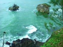 Paraíso ocultado que sorprende Foto de archivo libre de regalías