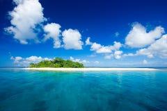 Paraíso tropical das férias do console Fotografia de Stock Royalty Free
